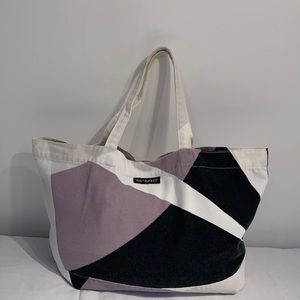 Marimekko vintage large handbag cotton canevas